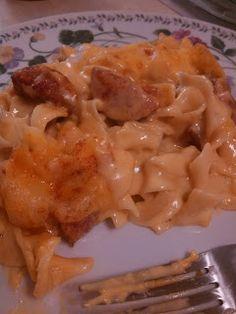 Jaime's Super Famous Blog: Smoked Sausage casserole