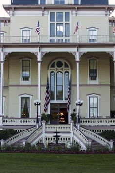 Chautauqua Atheneum Hotel ~ A glorious place to stay while spending a week at the institution.