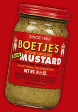 Boetje's Mustard is a national-favorite and made in the @Quad Cities. @Amor Montes de Oca, don't forget to take some home with you! #ILMileMarkers