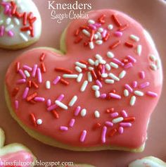 Knockoff Kneaders Sugar Cookies | AllFreeCopycatRecipes.com Cookie wasn't to brag about, but frosting was.