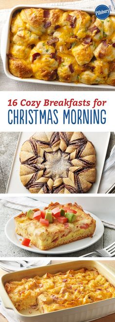 16 Cozy Breakfasts for Christmas Morning: Get through Christmas morning chaos with these simple but special breakfasts.