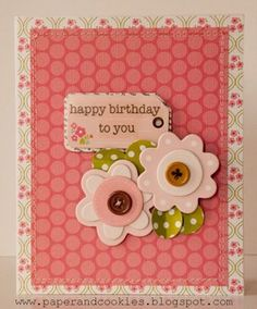 Birthday Card by Valerie_am at Studio Calico