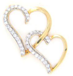 Diamond Ids Pendant DID4208 #GarnerBears #Popley #Pendant #Diamond #Designer