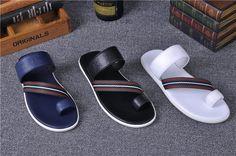 Gucci men's summer luxury cowhide sandals