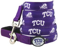 TCU Horned Frogs fan and dog lover? Find a great deal on your TCU Dog LED Lighted Leash. #TCU #DogLover