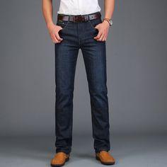 AFS JEEP Men's Jeans Straight Casual Solid Slim Fit Light Washed Retro Brand Jeans Men Denim Trousers Business Jeans Designer #Men's jeans http://www.ku-ki-shop.com/shop/mens-jeans/afs-jeep-men-s-jeans-straight-casual-solid-slim-fit-light-washed-retro-brand-jeans-men-denim-trousers-business-jeans-designer/