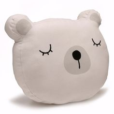 Can you ever have too many cushions? This one is just adoreable and so comforting for little kids! Adairs Baby Animal Face Cushion Bear from Adairs #AdairsKidsDreamRoom