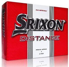 Golf Balls 18924: Srixon Ever Run Distance Golf Balls 3 Dozen With Logo - New - 36 Golf Balls -> BUY IT NOW ONLY: $34.95 on eBay!