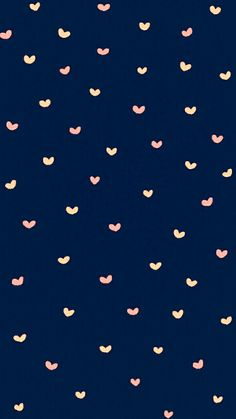 ネイビーがかわいいハート♥️のiPhone壁紙 Cute Pastel Wallpaper, Cute Patterns Wallpaper, Cute Disney Wallpaper, Wallpaper Iphone Disney, Kawaii Wallpaper, Cellphone Wallpaper, Homescreen Wallpaper, Iphone Background Wallpaper, Heart Wallpaper