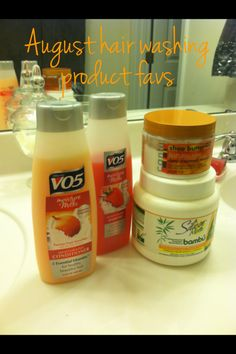 Did you know VO5 has biotin in it? Biotin is a vitamin that can grow your hair and nails and promote clear skin
