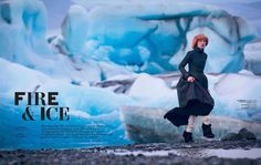 photo by Mason Poole: Fire & Ice for L'Officiel Netherlands