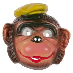 50s German Monkey Mask now featured on Fab.