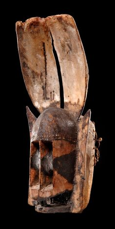 "Africa | Face mask ""dyommo"" from the Dogon people of Mali 