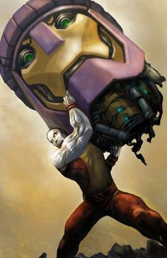 Colossus vs Sentinel by ~alo4477