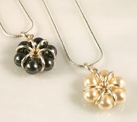 Why not make a simple yet elegant necklace. Better yet, make to and make a pair of earrings!            What you need to make one of thes...