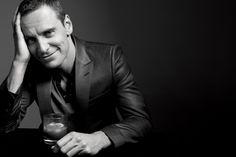Michael Fassbender by Gavin Bond.