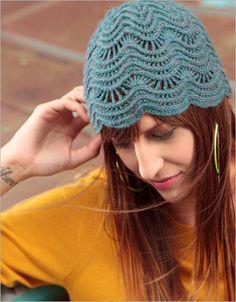 Fancywork Cloche - Interweave nice hat, not free