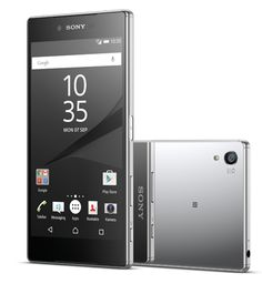 "Xperia™ Z5 Premium Chrom [5,5"" 4K Ultra HD, Android 5.1, 23MP Kamera, Octa-Core CPU, Fingerabdrucksensor],  System: Android 5.1 LolliPop Display:  13,9 cm"