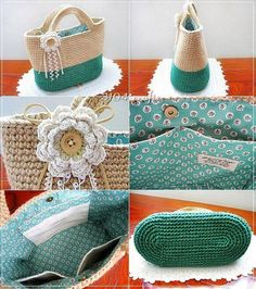 Crochet Bag Patterns Pictures