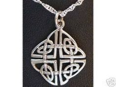 0499 good celtic infinity knot charm sterling silver Real Sterling silver 925 pendant Charm jewelry. $22.24, via Etsy.