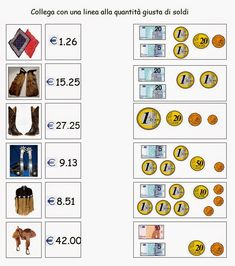 Euro, Numicon, 1st Grade Math Worksheets, Math Crafts, Math Magic, Primary Maths, Math For Kids, Math Classroom, Math Lessons