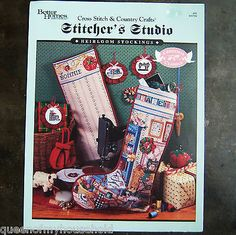 Stitchers Studio Christmas Heirloom Stocking Cross Stitch PATTERN Chart BH&G This one was for me, of course.