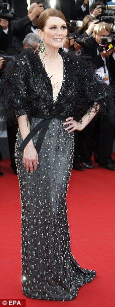 A gorgeous debut: (L-R) Julianne Moore, Naomi Watts, Natalie Portman and Sienna Miller wen...
