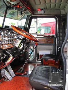 ゥ Custom Semi Trucks Gallery Show Trucks, Big Rig Trucks, Old Trucks, Pickup Trucks, Peterbilt 379, Peterbilt Trucks, Custom Big Rigs, Custom Trucks, Hummer Truck