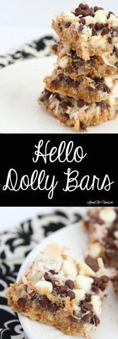 35 minutes · Vegetarian · Looking for the Best Hello Dolly Bars Recipe? Top US food blog, Among the Young, features their delicious version. Click here now for all the info!! #dessertrecipes #foodbars #hellodolly #yum #amongtheyoung