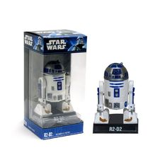 Boneco R2D2 Wars Bobble Head Funko