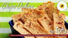 Recetas con Tofu fáciles: Chips de Tofu, salados o dulces | Recetas Dukan Maria Martinez
