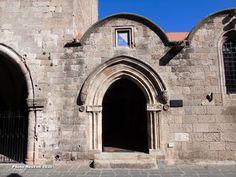 ΡΟΔΟΣυλλέκτης: Δημόσια Κεντρική Βιβλιοθήκη Ρόδου… Barcelona Cathedral, Building, Travel, Viajes, Buildings, Destinations, Traveling, Trips, Construction