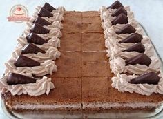 After eight szelet After Eight, Cake Cookies, Nutella, Pie, Food, Sweet Dreams, Anna, Cakes, Cream Pie