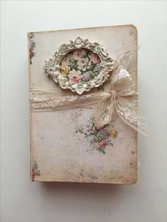 Shabby chic Fairy Dust journal