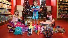 Are children given too many toys?  A really interesting read and definitely something to think about...