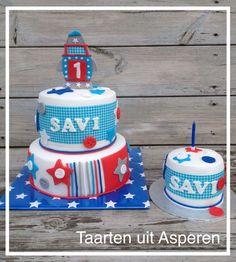 Lief jongens taart 1 jaar