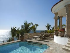 Cabo San Lucas, BCS: At Casa El Paraiso, you will relax in an elegant 7,000 sq. ft. Mediterranean villa and experience on of the most inviting beach properties in the worl...
