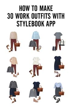 How to Create a 30 Outfit Capsule Wardrobe for Work!