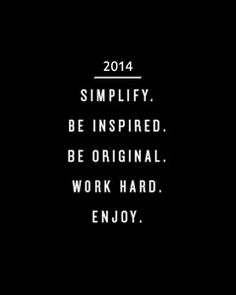 Goals and Aspirations for the New Year