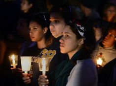 Hundreds gather for vigil honoring Isla Vista rampage victims  As dusk fell on a grieving Isla Vista, hundreds of students and other community members clutching white candles filtered into Anisq'Oyo' Park from every direction. Some clutched skateboards, others wore dark suits, and a few people brought dogs.  http://www.latimes.com/local/lanow/la-me-ln-isla-vista-vigil-20140524-story.html