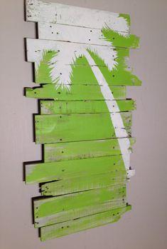Palm Tree Decor: https://www.etsy.com/listing/126317176/beach-and-palm-tree-reclaimed-wood-lt