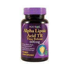 Alpha Lipoic Acid, Time Release 600mg