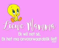 Afrikaanse Quotes, Mother Quotes
