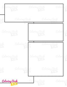 A blank comic book with professional panels to create great stories for children, adults, amateurs and professionals. 120 pages of templates designed to meet the highest requirements of both amateur and professional artists. Arranging the panels focuses on the main larger drawing, where we have the center of the page and smaller panels where we draw additions to the stage. Blank Comic Book, Comic Books, Stories For Kids, Great Stories, Create Your Own Comic, Comic Book Template, Comic Panels, Templates, Website