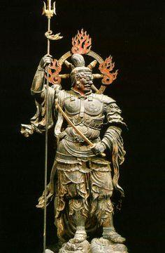 増長天(京都:東寺)