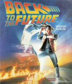 Back to the Future, 1985; Panini, Modena; album per la raccolta di 180 figurine