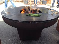 Coolest grill ever. The XL-Ringryll from yagoona.ch