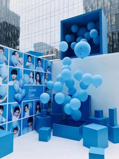 use ballons in gamifying the space Exhibition Stand Design, Exhibition Display, Stage Design, Event Design, Photo Zone, Pop Up Shops, Environmental Design, Display Design, Art Plastique