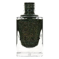 ILNP Ski Lodge - Deep Mossy Green Holographic Nail Polish  from ILNP Cosmetics, Inc. $10.00