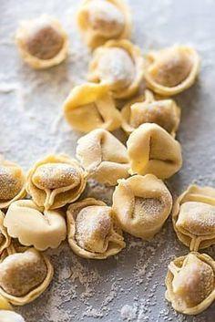 Stock photo of Tortellini - Pasta by KEMA_FoodCulture Tortellini Pasta, Ricotta, Ham, Garlic, Frozen, Vegetables, Food, Al Dente, Tortellini